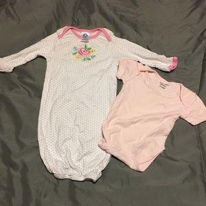 Other - Baby sleeper and t shirt